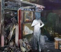 o.T, 2018, 150 x 220 cm, Öl auf Leinwand