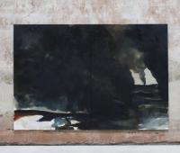 Die Gestalt der Finsternis, 2018,O?l und Acryl auf Leinwand, 250X390cm
