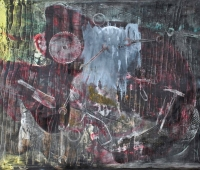 Die Werkstatt, 160x120cm, oil on canves, 2017